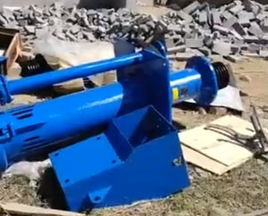 SP液下渣浆泵运抵洗沙用户使用现场