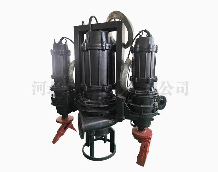 潜水渣浆泵管道堵塞的原因分析
