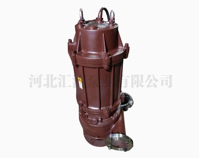 潜水渣浆泵的结构特点