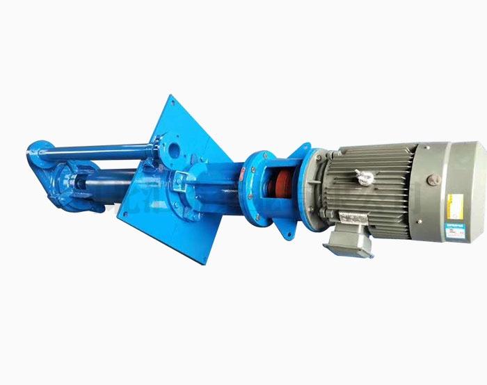 液下渣浆泵使用时出现堵塞现象的处理